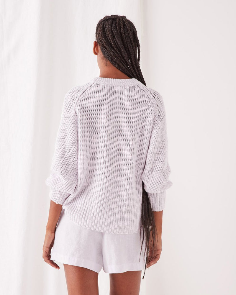 assembly label dyan knit lilac