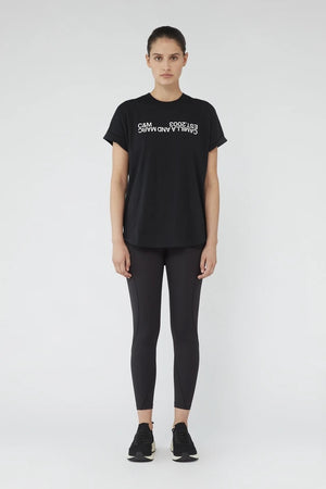 c&m huntington 2.0 tee black