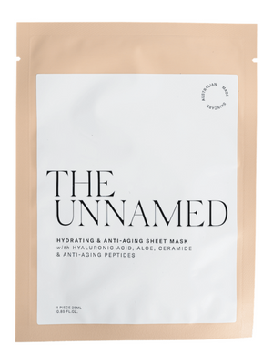 the unnamed hydrating and anti-aging sheet mask
