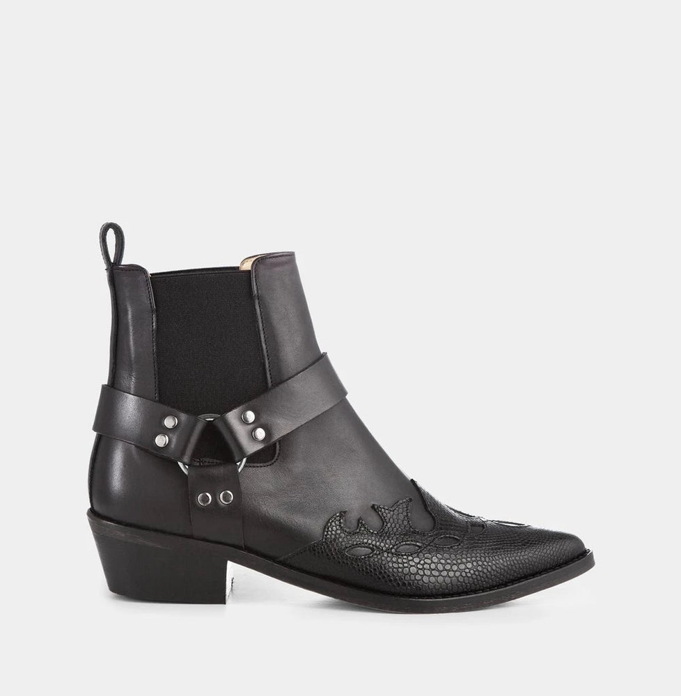 ivylee terry python boot black