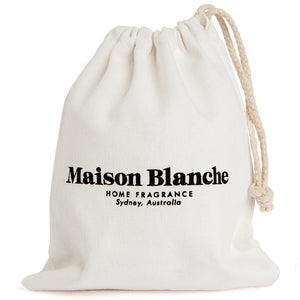 maison blanche rose and amber candle large