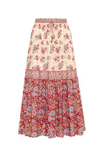 arnhem harmony midi skirt strawberries and cream