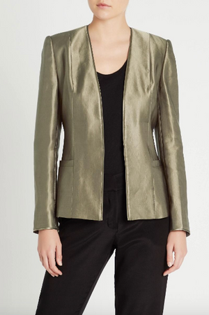 sass and bide keep talking jacket khaki