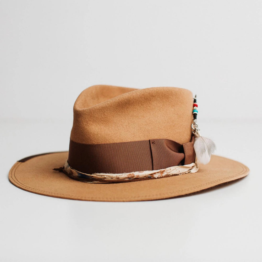 phylli strickland hat fly fisher camel