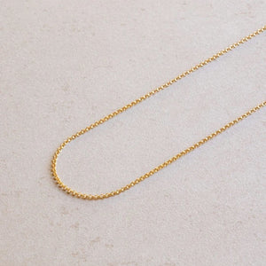 jl fine everyday cable chain gold