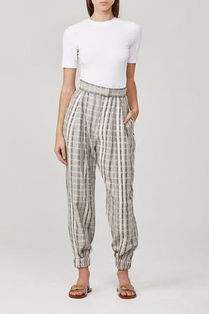 significant other night tide pant natural stripe