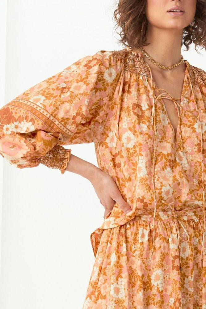 spell anne blouse peach