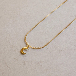 jl fine the luna pendant necklace gold