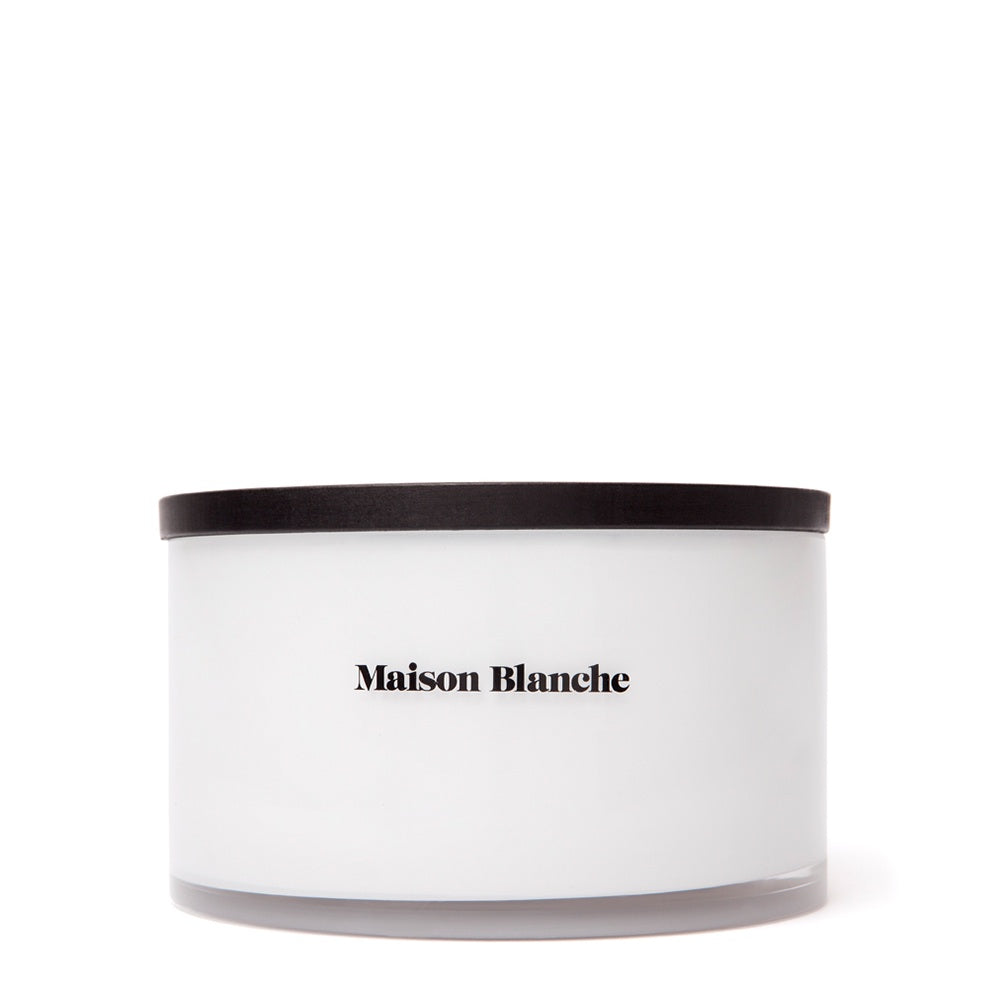 maison blanche rose and amber deluxe candle