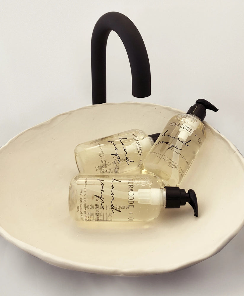 heracode and co organic hand soap