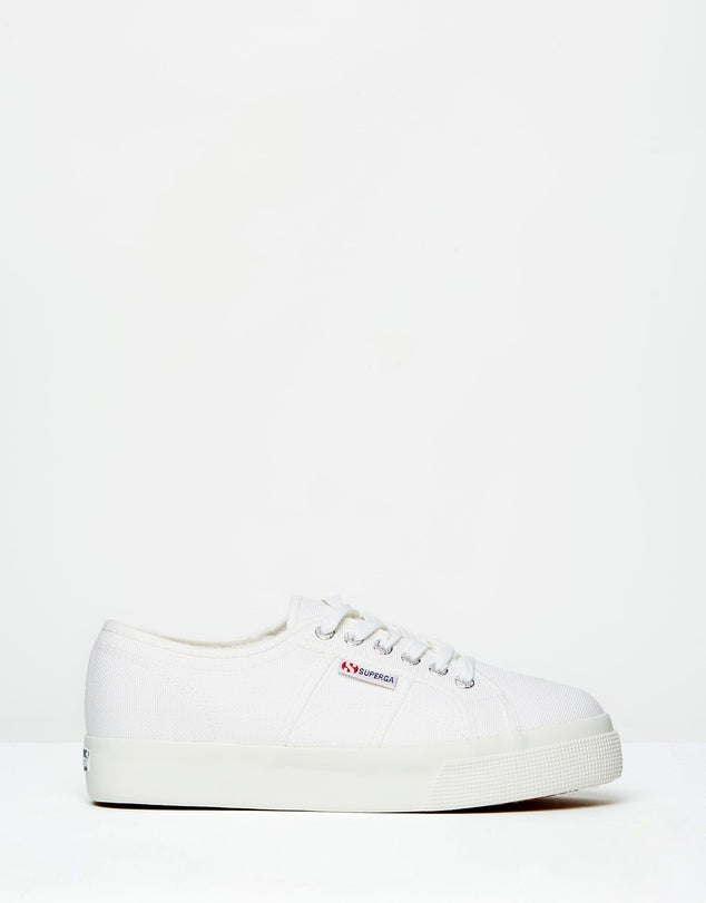 superga 2730 cotu mid wedge white