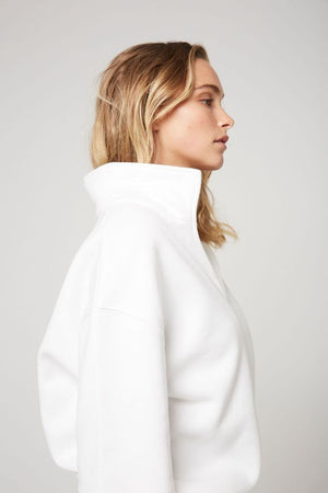 atoir x rozalia russian the collar white TAKE 20% OFF