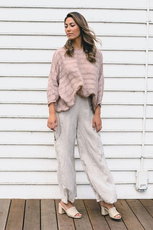 estilo emporio pocket pant natural