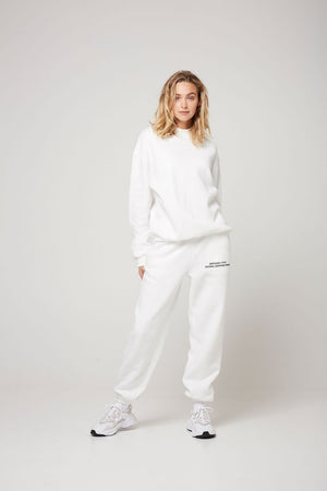 atoir x rozalia russian the crew neck white TAKE 20% OFF
