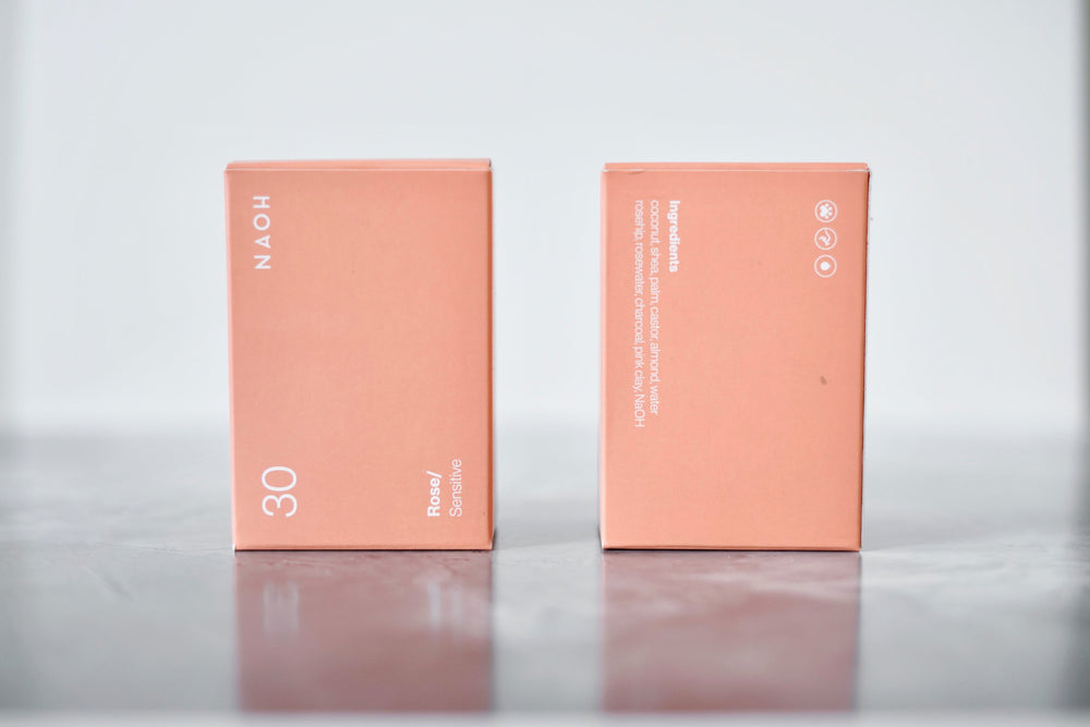 naoh soap bar rose