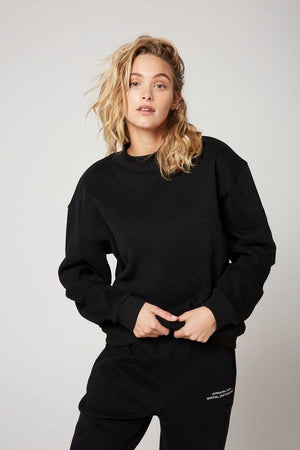 atoir x rozalia russian the crew neck black TAKE 20% OFF
