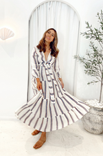 estilo emporio mallorca dress roma stripe