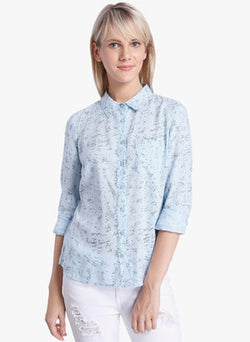 Vero Moda Blue Top