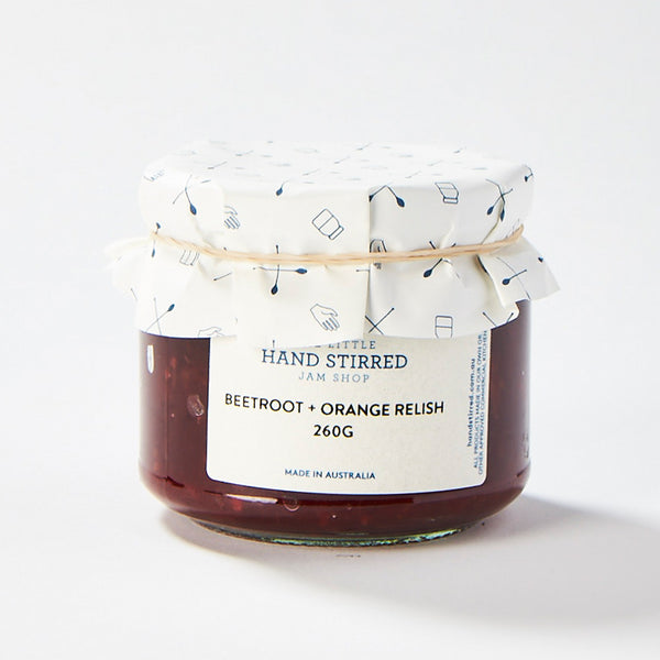 Beetroot + Orange Relish