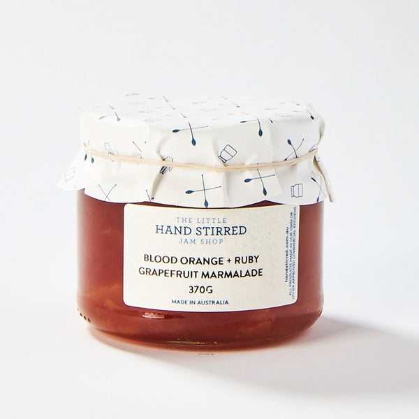 Blood Orange + Ruby Grapefruit Marmalade