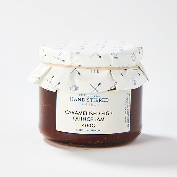 Caramelised Fig + Quince Jam