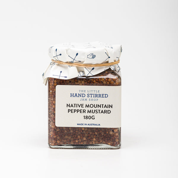 Native Mountain Pepper Mustard