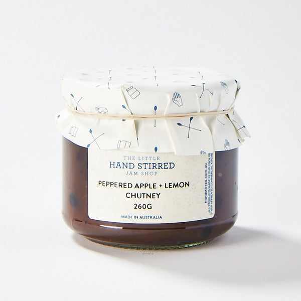Peppered Apple + Lemon Chutney