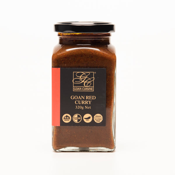Goan Cuisine Red Curry Paste