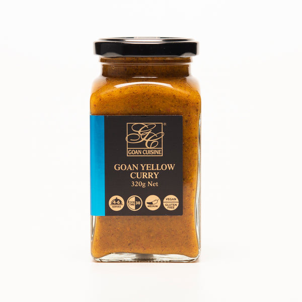 Goan Cuisine Yellow Curry Paste