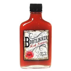 Bootlikker Hot Sauce bottle