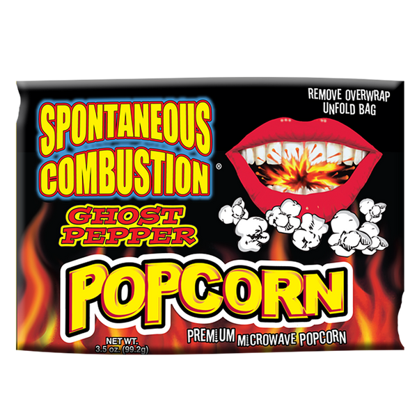Ghost Pepper Microwave Popcorn