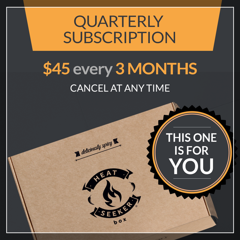 The Heat Seeker Box - Quarterly Subscription