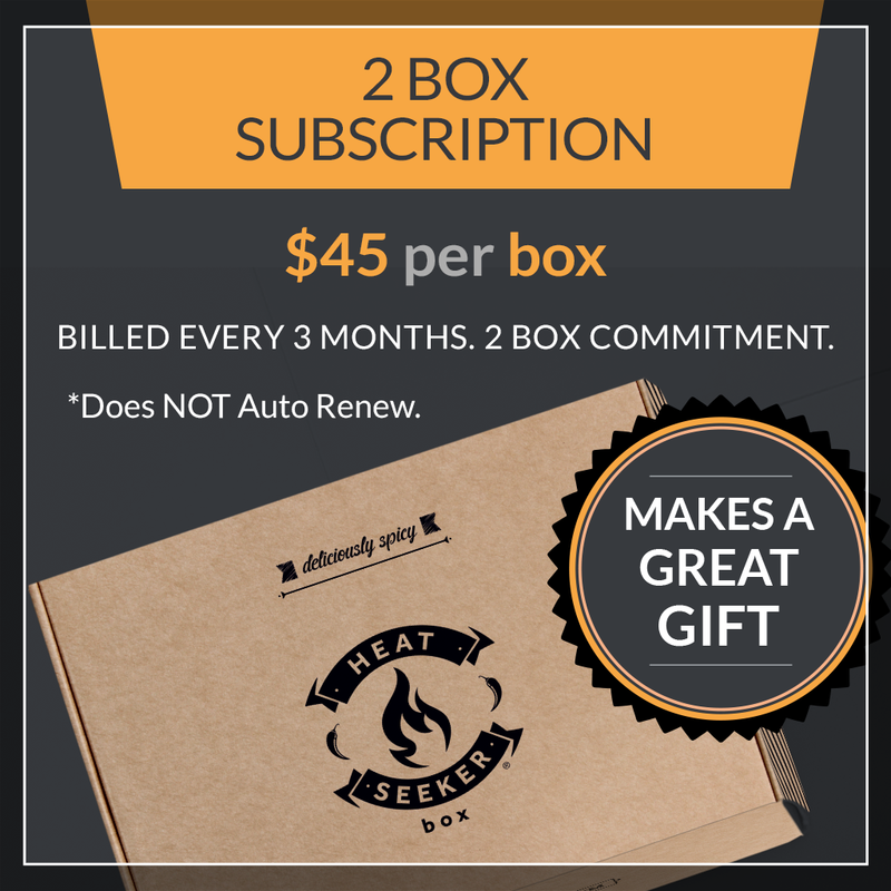 The Heat Seeker Box - Gift 2 Boxes