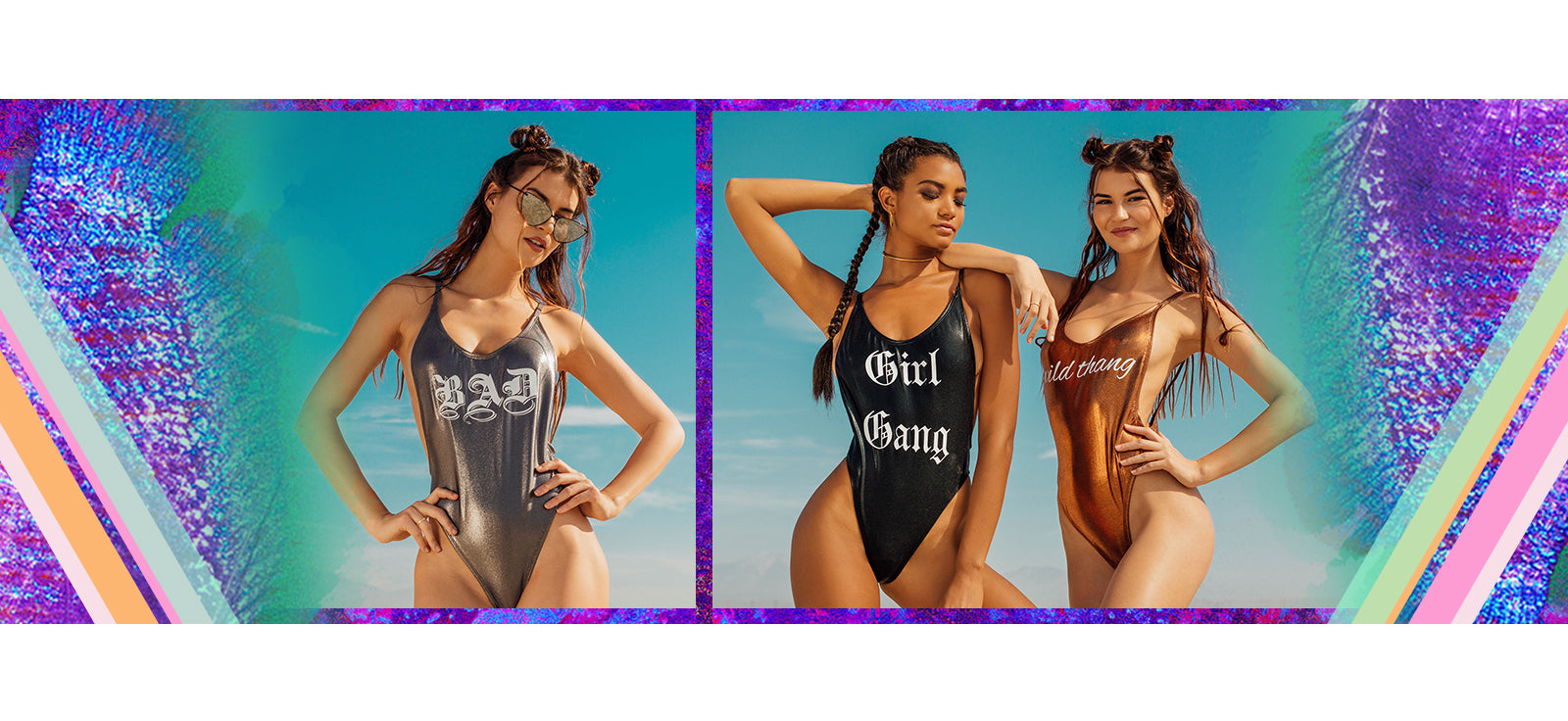 Bad, Girl Gang and Wild Thang - REVIBE by Dippin' Daisy's Swimwear