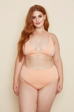 Seamless Full Coverage Triangle Top