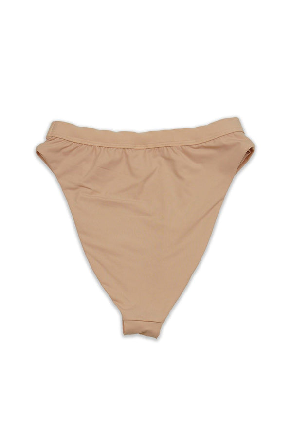 Seamless Cheeky Hi Waist Banded Bottom - Blush