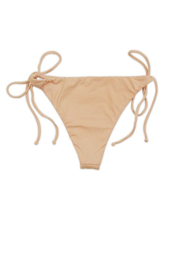 Seamless Tie Side Cheeky Bottom - Blush
