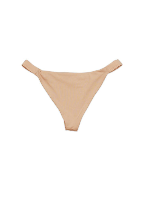 Blush Elastic Bands Seamless Cheeky Bikini Bottom - Dippin' Daisy's Swimwear