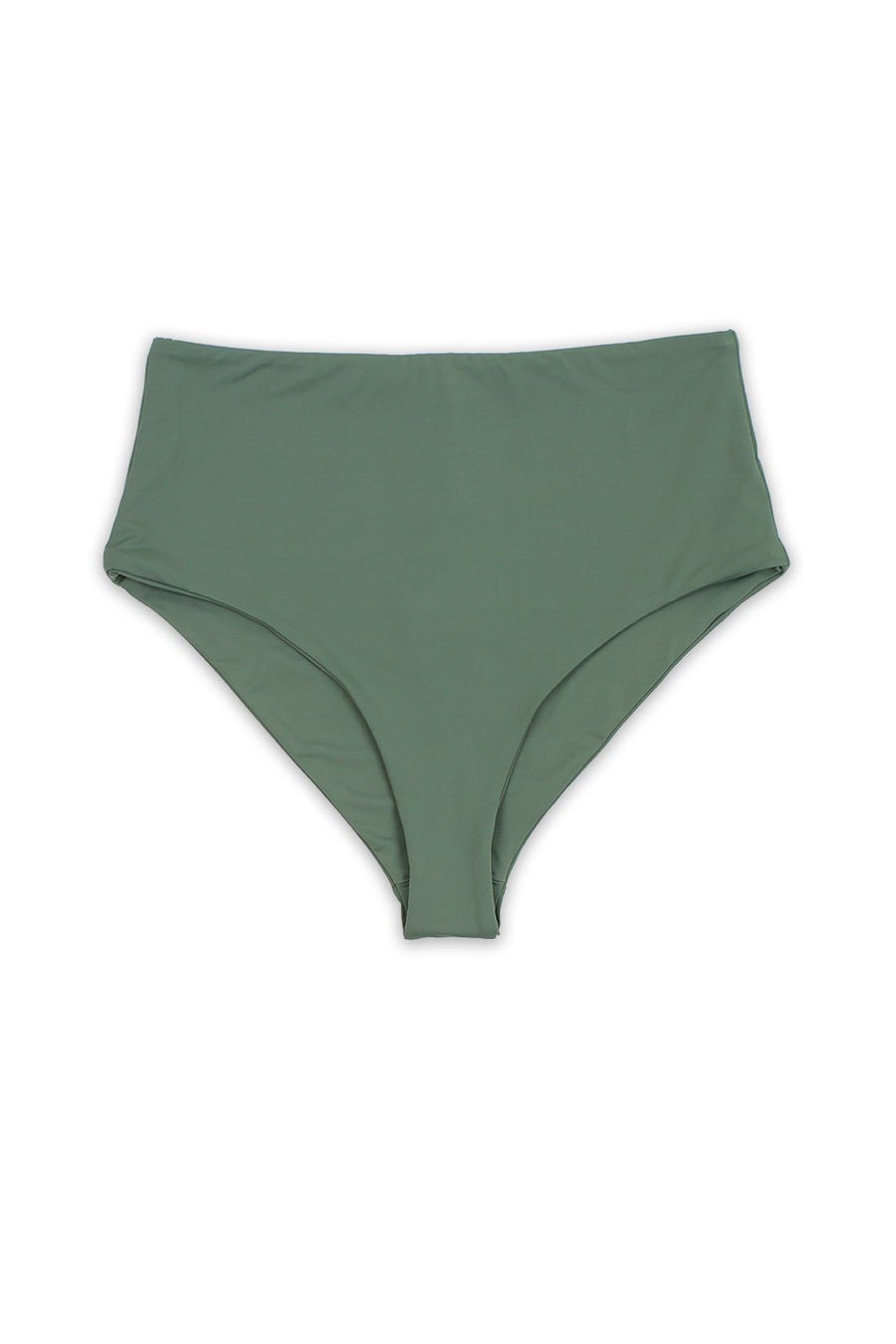Seamless Moderate Coverage Hi Waist Bottom - Avocado