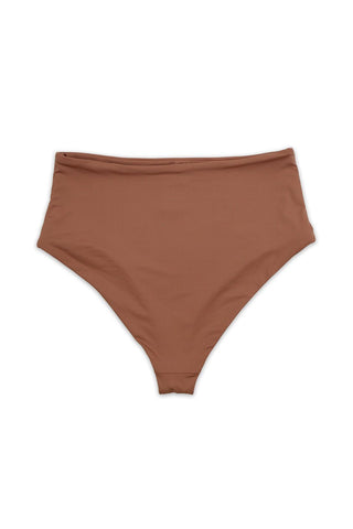 Rosedawn Seamless Moderate Coverage High Waist Bottom Back - Dippin' Daisy's Swimwear