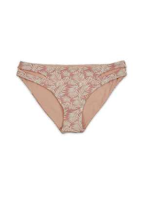 Cameo Leaves Womens Seamless Cutout Moderate Coverage Bottom - Front - Dippin' Daisy's
