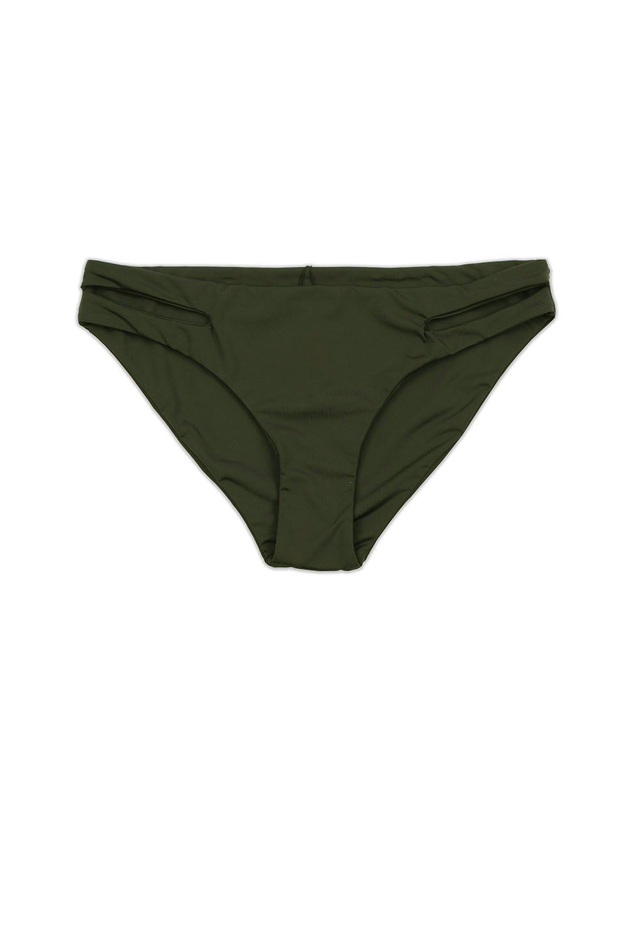 Seamless Moderate Cutout Bottom - Olive