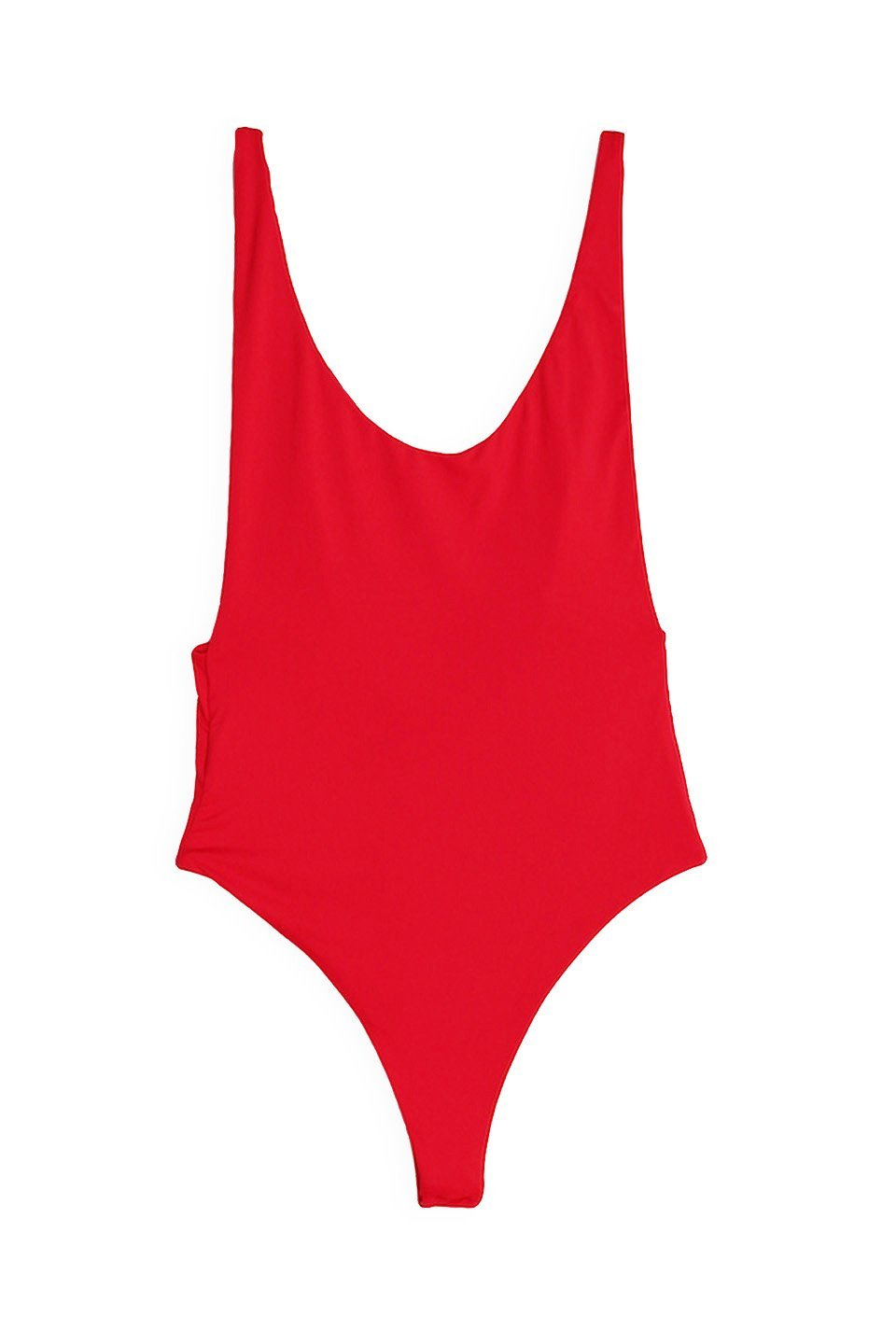 2fbce71a842a Dippin' Daisy's Low Back Thong One-Piece Swimsuit - Cherry - Dippin' Daisy's  Swimwear