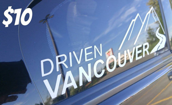 Driven Vancouver Decal