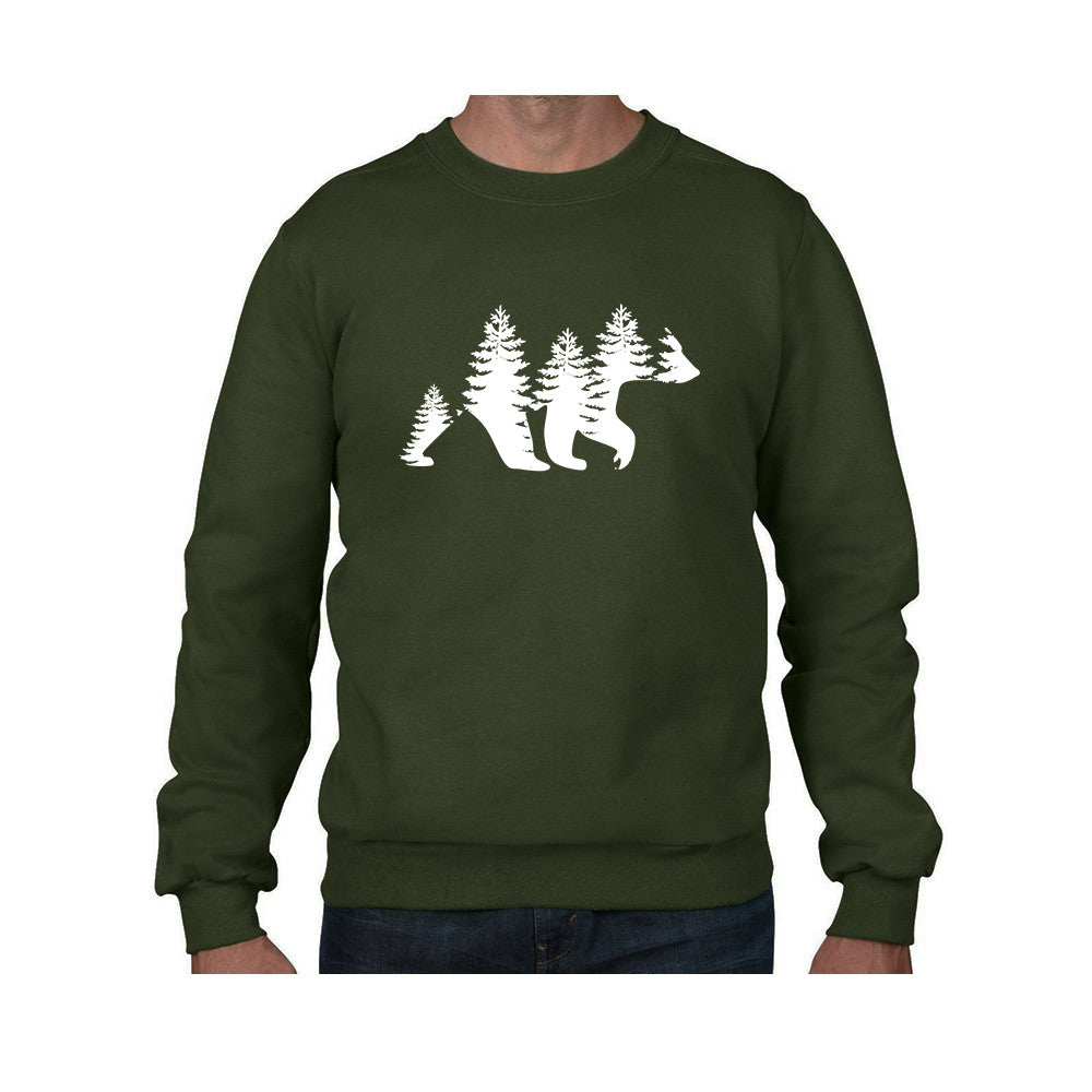 Tree Bear Crewneck