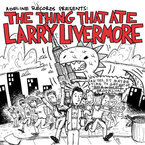 Various Artists 'The Thing That Ate Larry Livermore' CD