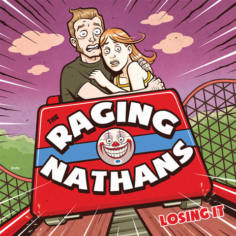 "The Raging Nathans 'Losing It' 12"" LP"