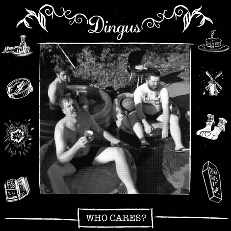 "Dingus 'Who Cares?' 12"" LP"