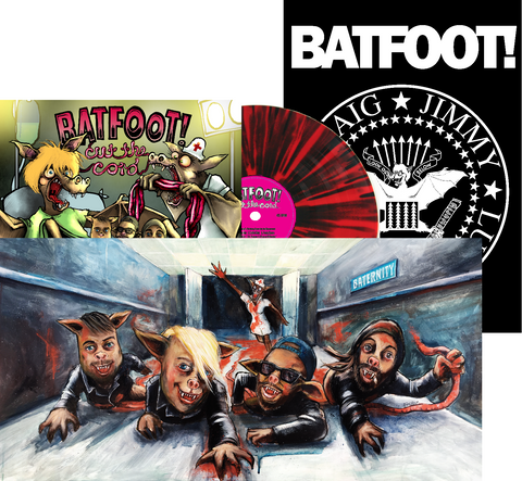 "Batfoot! 'Cut The Cord' 12"" LP LIMITED EDITION"