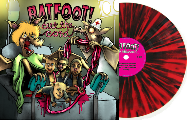 "Batfoot! 'Cut The Cord' 12"" LP"